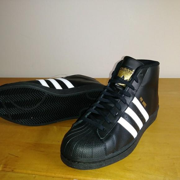 c3c176f337fea2 Adidas Originals Pro Men s NWOT 9.5 M High Top s